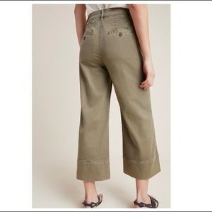 Anthropologie Pants - Anthropologie Pintucked Chino Pants